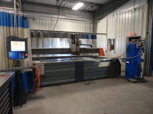 CNC Abrasive Water Jet