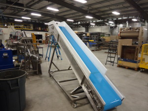 Custom Conveyor with Non-Stick Surface Belt